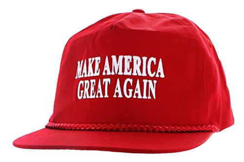 Donald Trump 2016, berretto rosso con scritta Make America Great Again