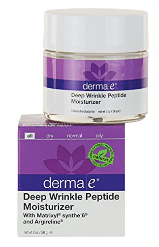 derma e Deep Wrinkle Peptide Moisturizer with Matrixyl and Argireline 2 Ounce (Derma E Dark Circle Eye Cream compare prices)