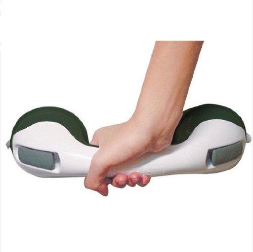 Gaorui Grip Suction Handle Suction Cup Safety Tub Bath Bathroom Shower Tub Grip Portable Grab Bar Handle_White
