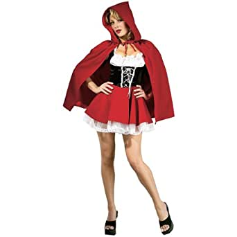 Sexy Little Red Riding Hood Halloween Costume