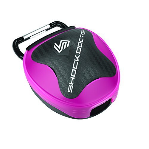 Shock Doctor  Mouthguard Case (Transparent Pink)
