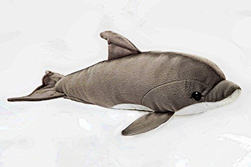 "Dolphin 10"" Stuffed Plush Animal - Cabin Critters Saltwater Fish Collection"