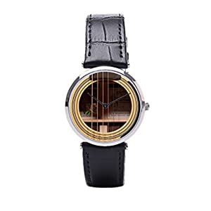 Dr. Koo D 28 Wristwatch Guitar Mens Leather Strap Watches