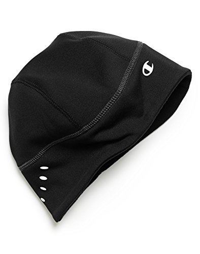 Champion Men`s Performance Running Hat, P122, One Size, Black Reflective (Champion C Caps compare prices)