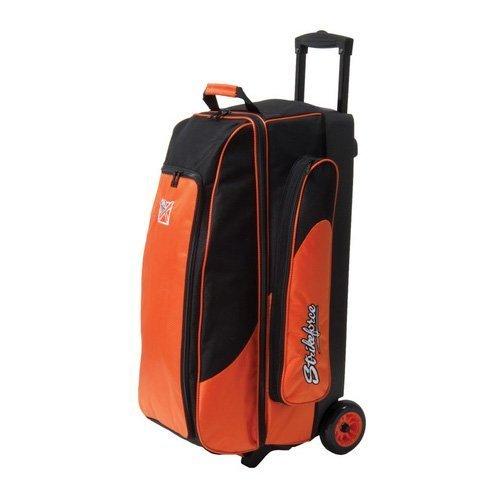 kr-strikeforce-cruiser-smooth-triple-roller-bowling-bag-orange-by-kr