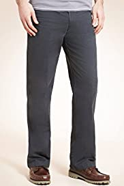 Big & Tall Pure Cotton Straight Leg Regular Fit Chinos