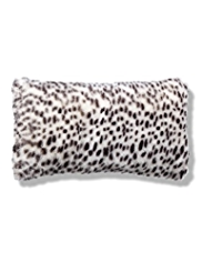 Faux Fur Bolster Cushion