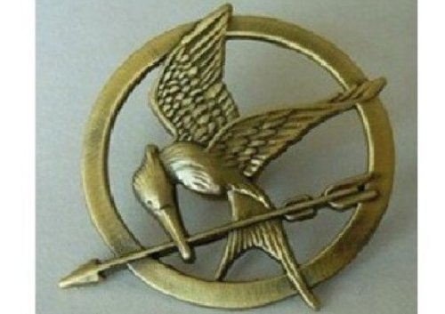 Brand New the Hunger Games Movie Bronze Mockingjay