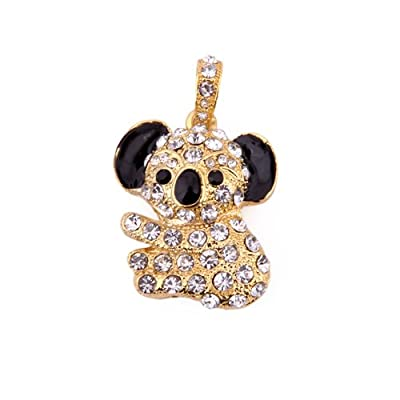 HDE® Gold Koala with Gems Flashdrive Pendant- 4GB from HDE