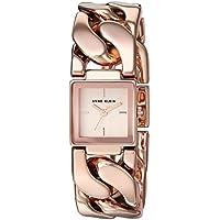 Anne Klein AK/2664RGRG Chain Bracelet Womens Watch (Rose Gold)