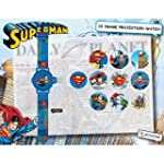 Superman Projection Watch with Push B...