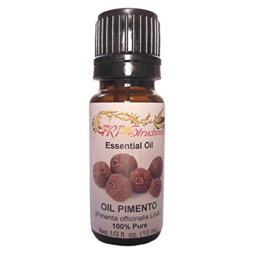 Pimento Natural Essential Oil 10 mL & Natural Himalayan Pink Salt 250g