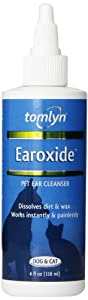 Vetoquinol Earoxide Ear Cleanser for Pets, 4-Ounce