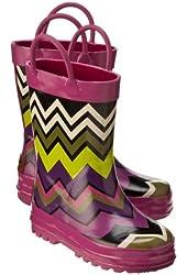 Missoni for Target® Toddler Girls Zig-Zag Rain Boots, Fuschia, Large