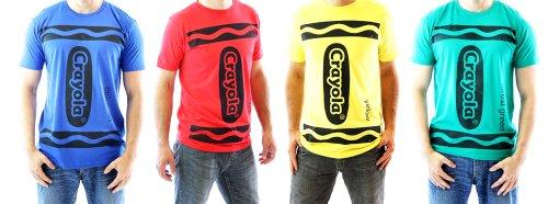 Crayola Crayon Adult Costume T-shirt