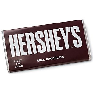Hershey Candy Bar, 5-Pound Bar