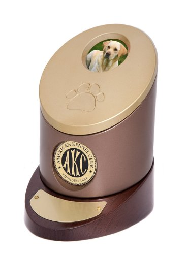 Official American Kennel Club Pet Cremation Urn