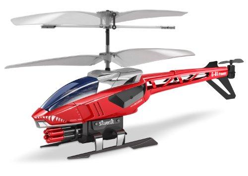 Bilder von Silverlit 84514 - IR Heli Blaster Infrarot 3-Kanal Co-Axial Helikopter mit Raketen und Gyro (farblich sortiert)