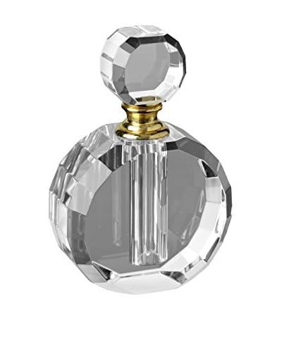 Badash Crystal Round Glass Perfume Bottle