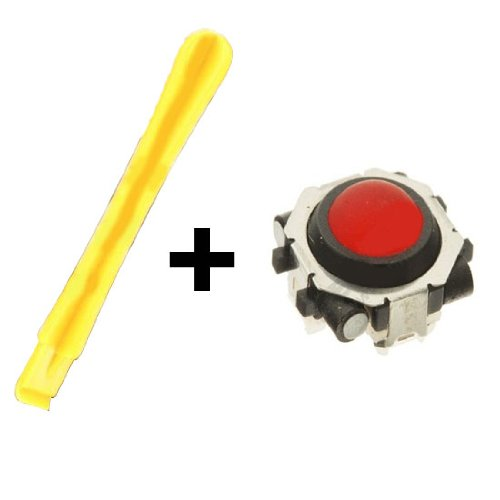 Blackberry 8900 Javelin Trackball (Red) + Blackberry Opening Repair Pry Tool.  *** Same Day Shipping *** Purchase from TechMart Electronics.