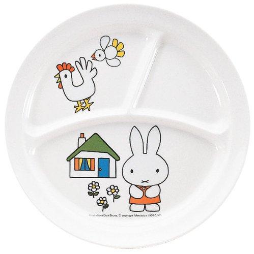 ミッフィー 丸ランチ皿