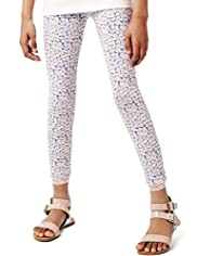 Autograph Ditsy Floral Leggings with Stay New&#8482;