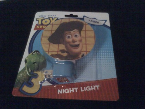 Toy Story 3 ~ Night Light ~ Choose below your shade image Woody, Rex or Buzz - 1