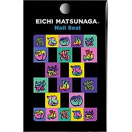 ウイングビート EICHI MATSUNAGA ネイルシール EICHI Sー009