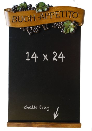 Italian Kitchen Black Chalkboard