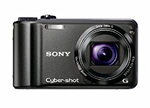 Sony Cyber-shot DSC-H55 14.1MP Digital Camera with 10x Wide Angle Optical Zoom with SteadyShot Image Stabilization and 3.0 inch LCD (Black)