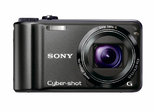 Sony Cybershot DSC-H55 is one of the Best Ultra Compact Point and Shoot Digital Cameras for Travel Photos Under $400