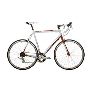 Giordano Libero 1.6 White/Red Men's Road Bike-700c