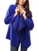 MAISON DU MANTEAU Abrigo (Azul Royal)