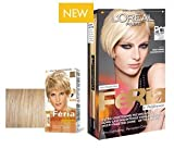 L'Oreal Paris Feria Hair Colour P01 Metallic Silver Blonde