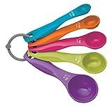 41KkYdnsZZL. SL160  - BEST BUY #1 Kitchen Craft Colourworks Measuring Spoon Set - 5 Pieces
