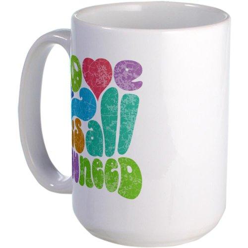 Cafepress Love Is All Ii Large Mug Large Mug - Standard