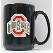 Buckeyes Coffee Mug - Ohio State Buckeyes Black Coffee Mug
