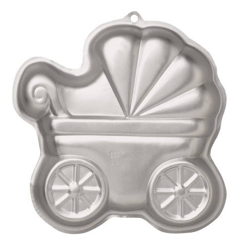 wilton baby buggy pan baby shower boy girl cake pan new ebay