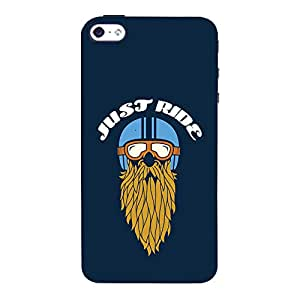 ColourCrust Apple iPhone 4 Mobile Phone Back Cover With Riders Style - Durable Matte Finish Hard Plastic Slim Case