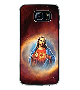 ifasho Jesus christ Back Case Cover for Samsung Galaxy S6
