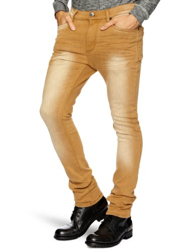 Nunc N13-1452 Broome ST Skinny Men's Jeans Dessert W30 INxL32 IN