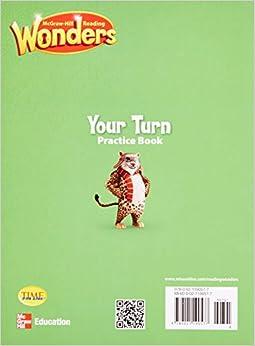 Reading wonders grade 5 your turn practice book