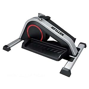Kettler mini v lo elliptique argent noir sports et loisirs - Mini velo elliptique ...