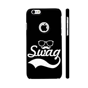 Colorpur Glasses Moustache Swag On Black Designer Mobile Phone Case Back Cover For Apple iPhone 6 / 6s with hole for logo | Artist: Designer Chennai