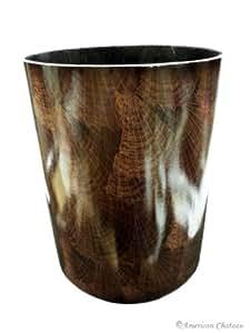 """10"""" Sea Shells Pattern Waste Basket / Garbage Can Bin"""