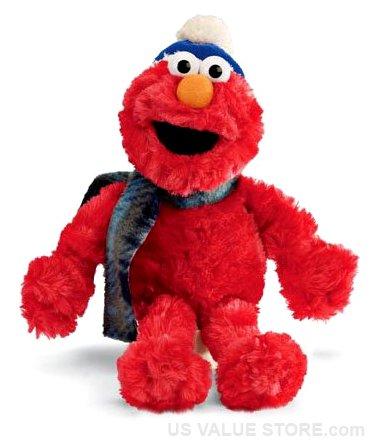 "Sesame Street Holiday Elmo 9"" by Gund - 1"