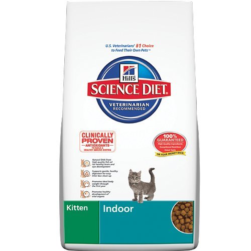 Detail image Hill's Science Diet Kitten Indoor Dry Cat Food, 7-Pound Bag