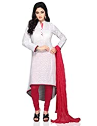 Vastra Vinod Self Print Cotton Kurti