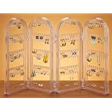 Hinged Earring Screen - Holds over 125 Pairs Of Earringsby Grandma's Home Shopping