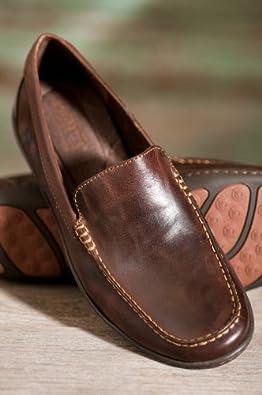 Men's Born Harmon Canoe Leather Loafers, CANOE, Size 9
